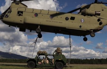 Albanian soldiers participate in NATO exercise