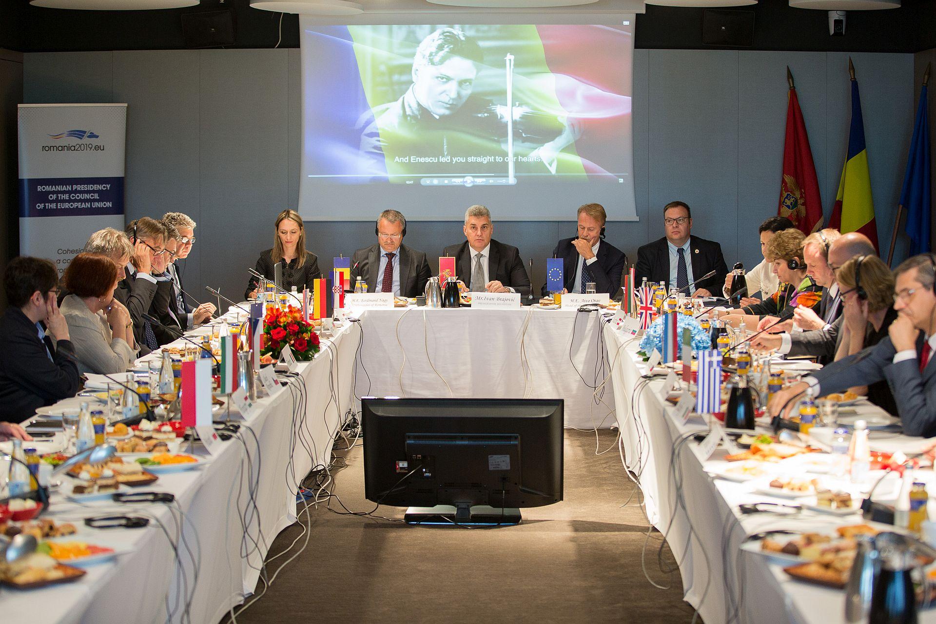 Montenegrin House Speaker meets with EU ambassadors