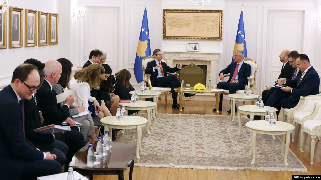 US take special interest on the talks between Kosovo and Serbia