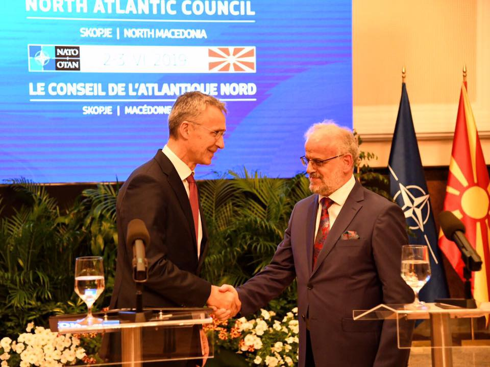 NATO's chief in Skopje: We look forward to having you amidst us