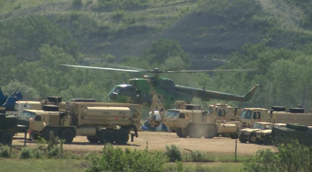 Military exercise starts in North Macedonia