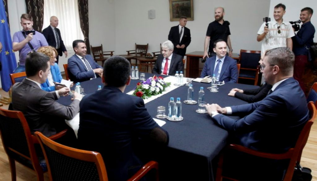 Debates in North Macedonia over early elections