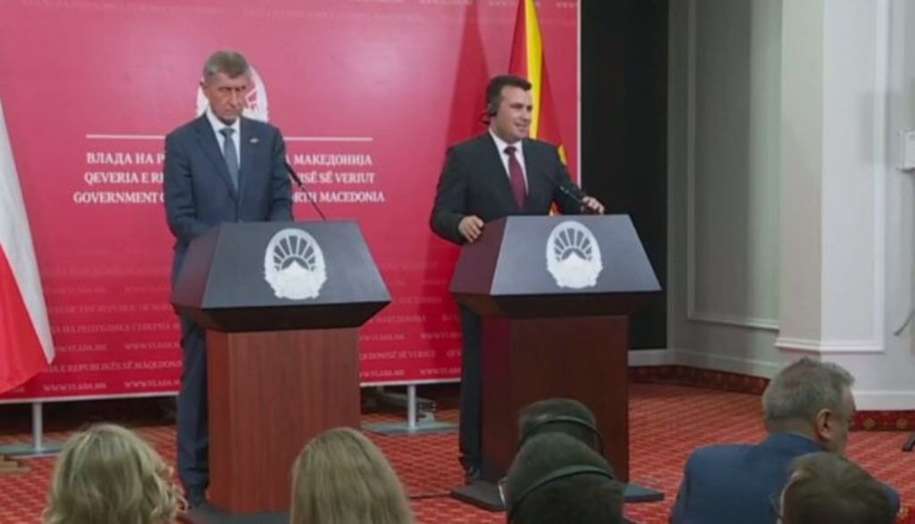 North Macedonia's Zaev says that the country has delivered its obligations