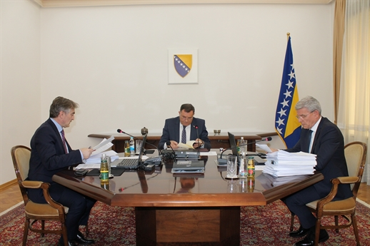 BiH Presidency fail to reach agreement regarding the migrant crisis