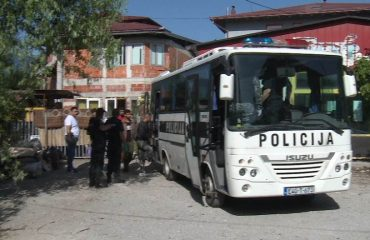 Four police officers injured during incident with migrants