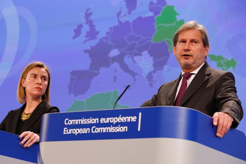 First anniversary of Prespa accord, Mogherini and Hahn demand opening of membership talks