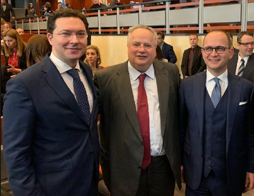 Kotzias, Kasoulides, Mitov and Bushati appeal to EU for Albania and North Macedonia