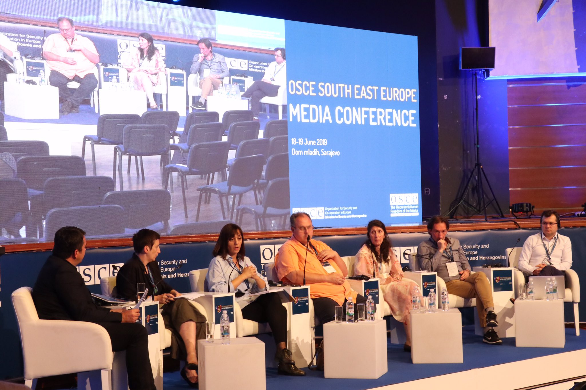Safety of journalists at the focus of the 6th South East Europe Media Conference