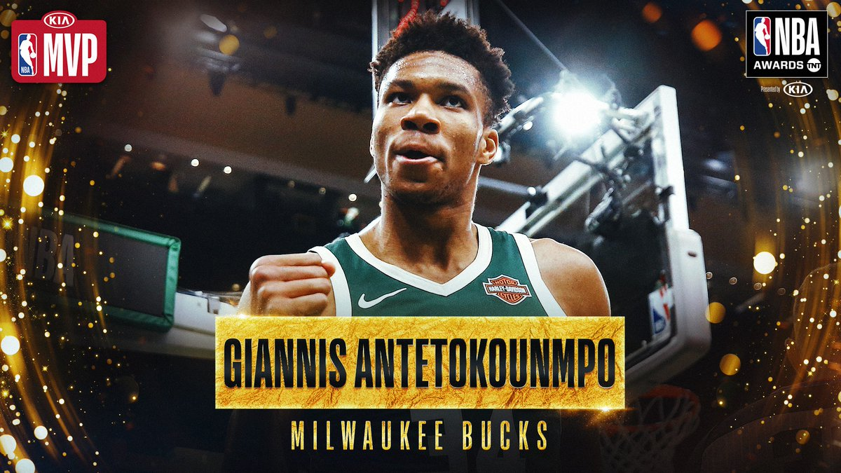 Antetokounmpo named NBA Most Valuable Player 2018-2019