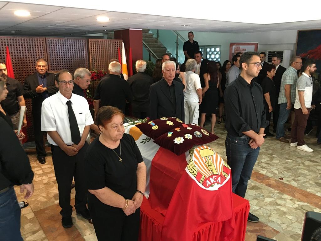 Cyprus bids farewell to Demetris Christofias
