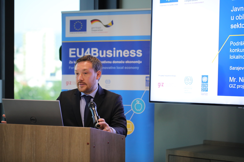 Three million euros for SMEs in BiH
