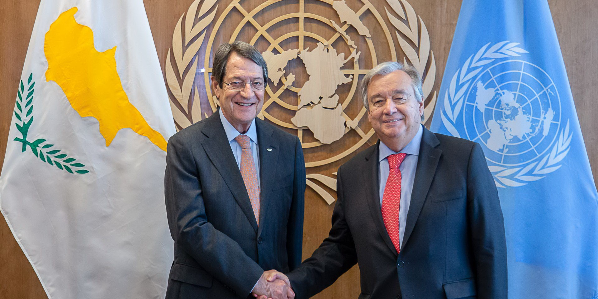 Anastasiades to Guterres: I am ready to restart the negotiations