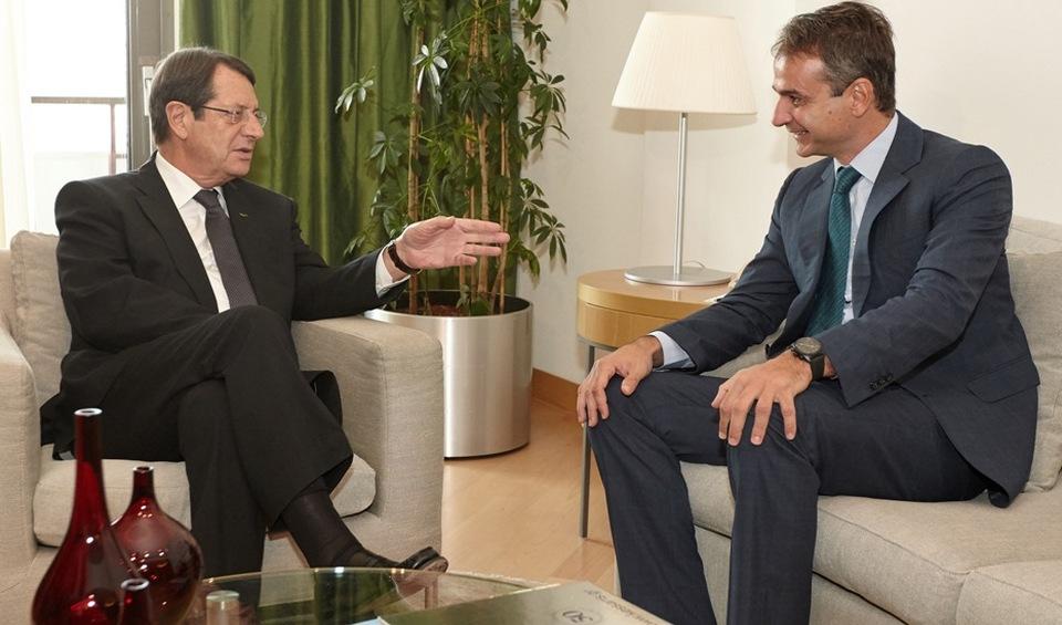 President Anastasiades congratulates K. Mitsotakis on his election