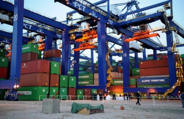Greek trade deficit up by 56% in May