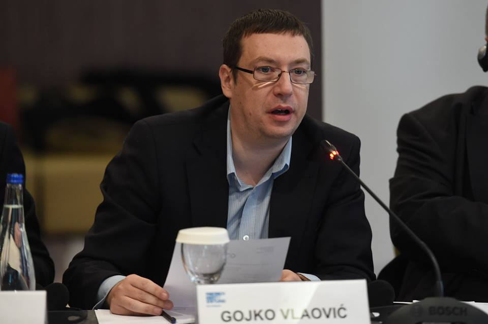 """Journalist Gojko Vlaovic about his first novel """"Brothers by Sound"""""""
