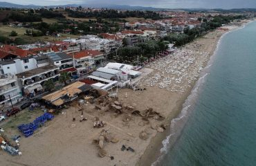 Chalkidiki at a state of emergency following deadly storm