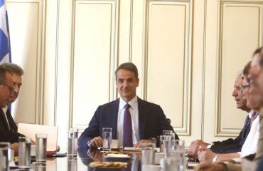 The strengthening of border control discussed at the Maximos meeting with Mitsotakis and Avramopoulos