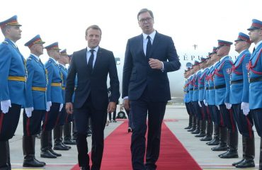 Non-European powers should not make decisions on Kosovo, Macron says in Belgrade