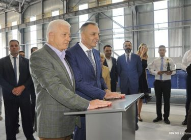 Opening of Silumin factory in Montenegro