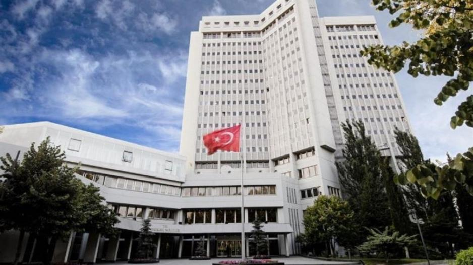 Turkish Foreign Ministry's reaction to sanctions against Ankara