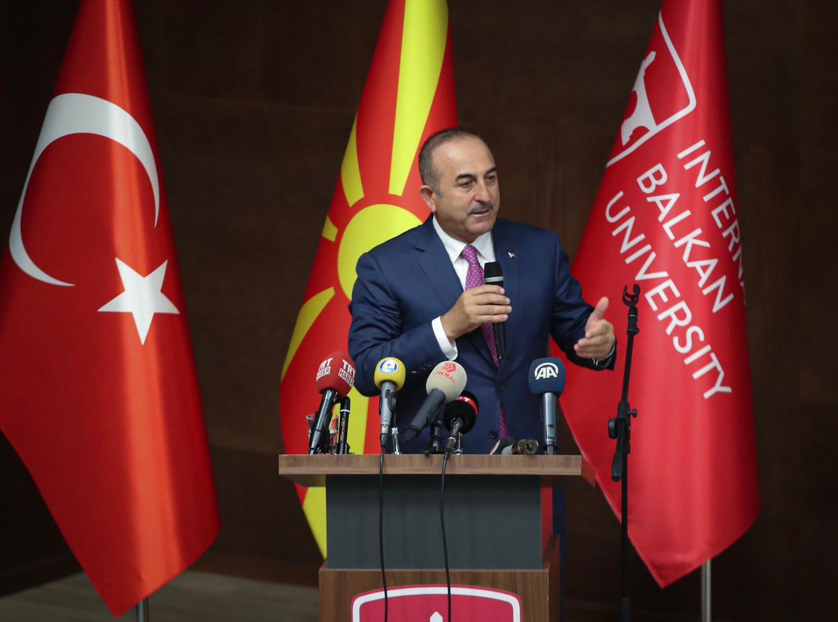 Cavusoglu: We should not take the sanctions seriously
