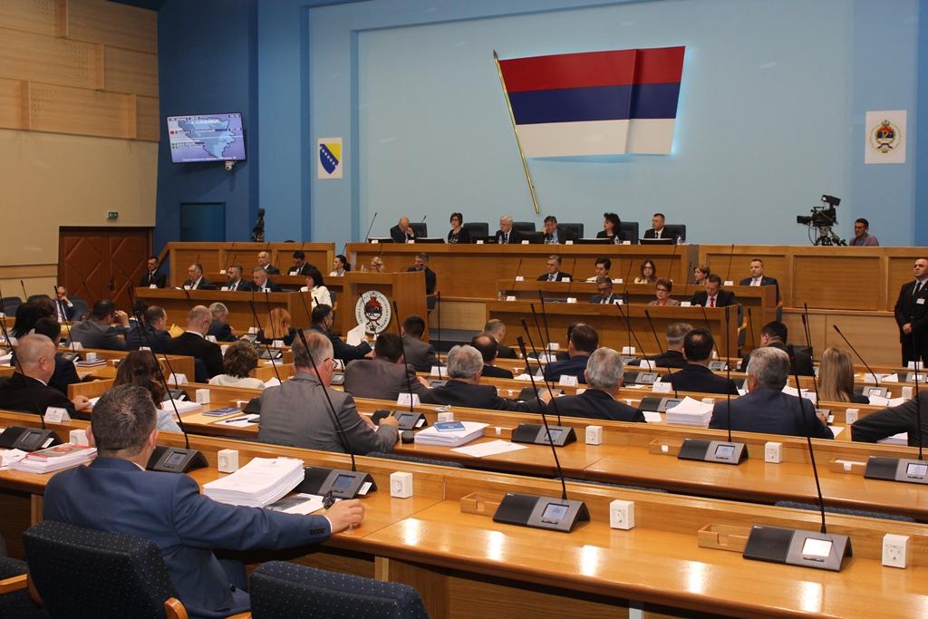 Republika Srpska National Assembly votes in favor of the Serb veto to the BiH Presidency conclusion on Pelješac bridge