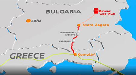 Construction of the Greek-Bulgarian gas pipeline IGB begins