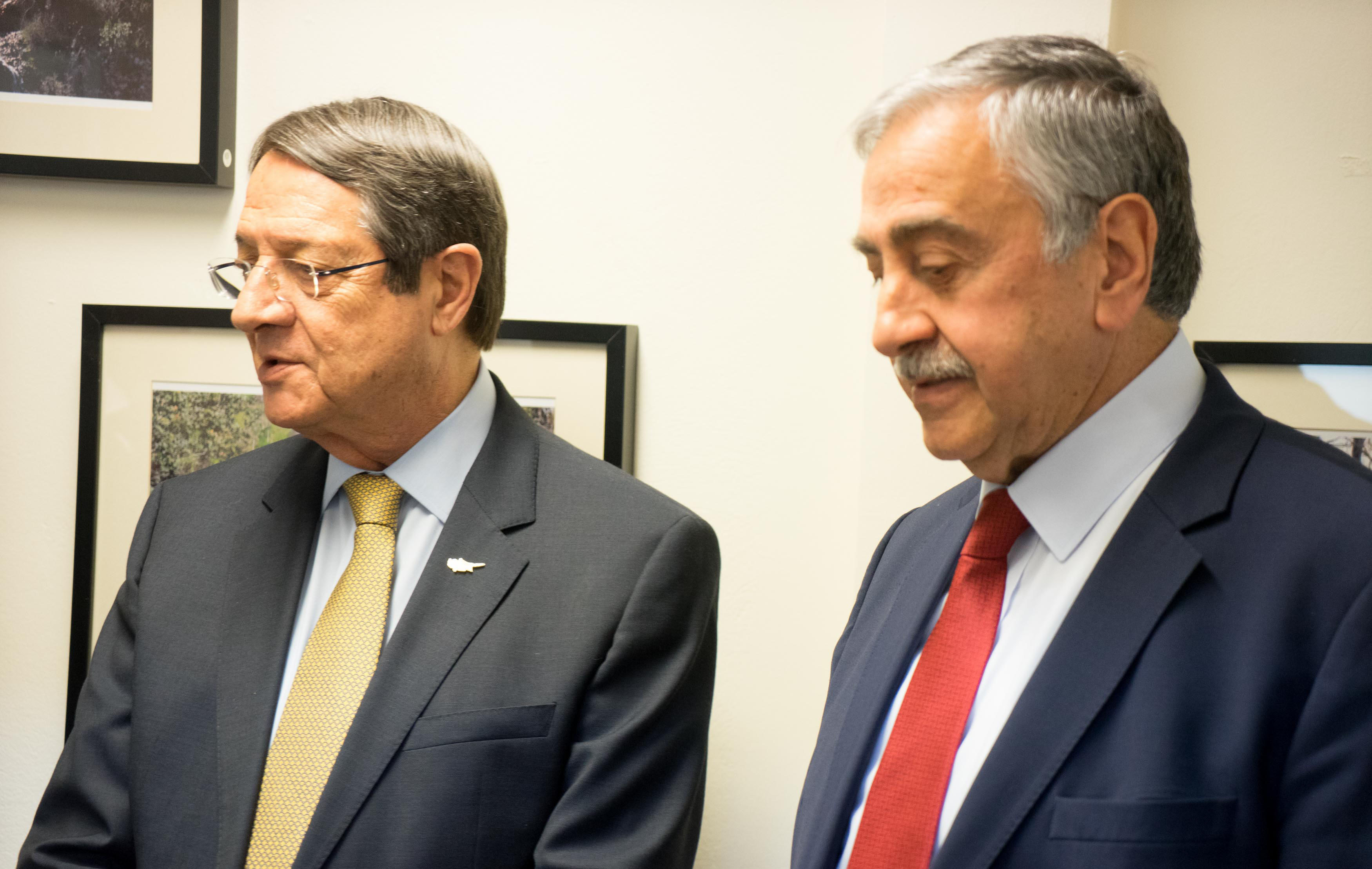 Anastasiades wants all issues on the table in the meeting with Akinji