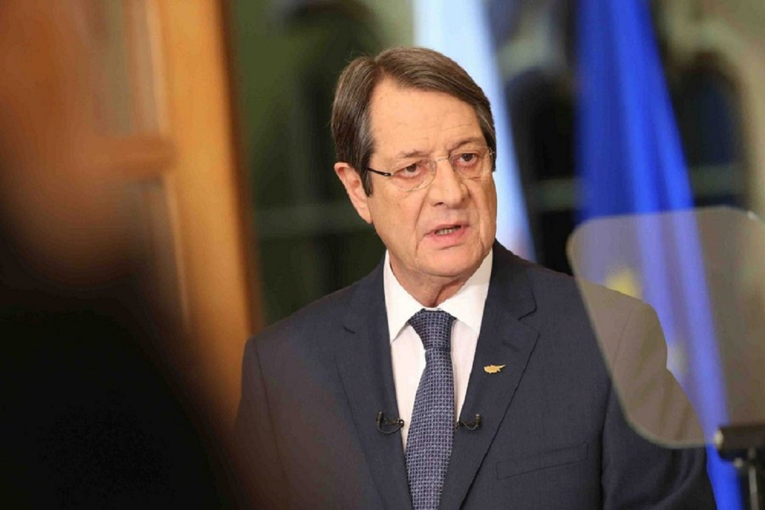 Anastasiades expresses his position on the Cyprus problem to the Kyrenians