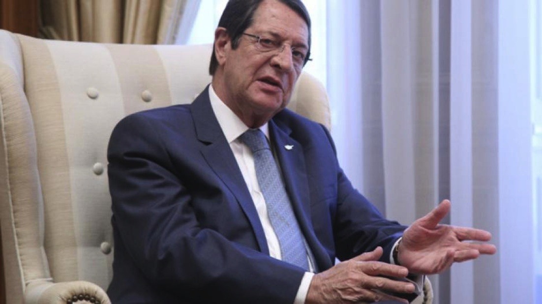 Anastasiades' letter to the UN Secretary-General on natural gas