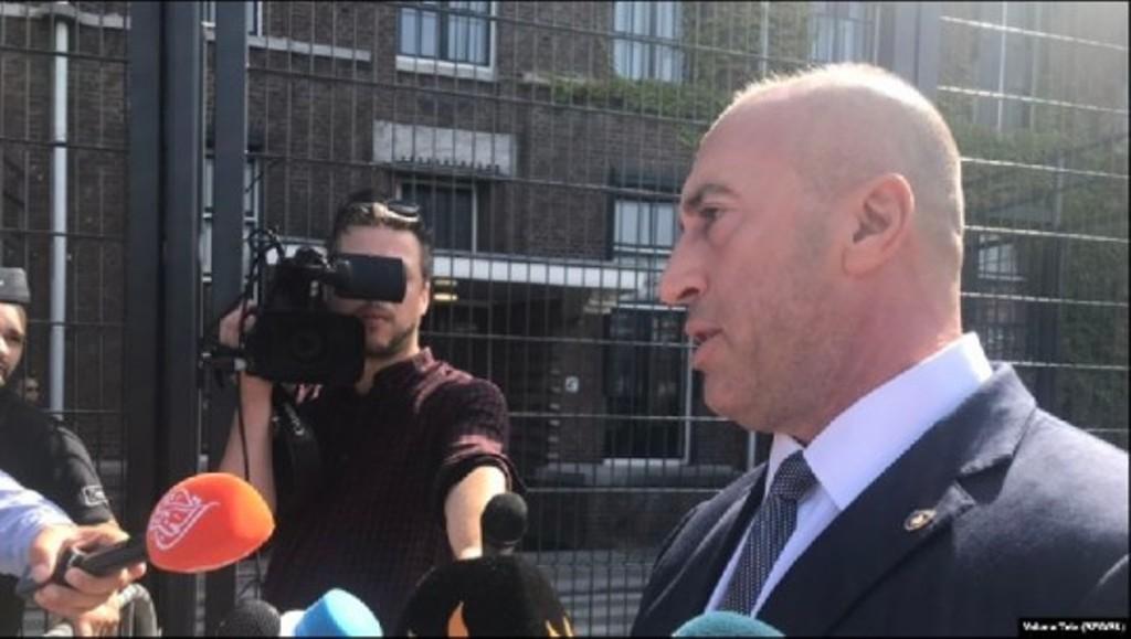 Kosovo's Haradinaj doesn't answer prosecutors' questions