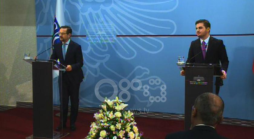 Albania's Cakaj meets OSCE's Secretary General