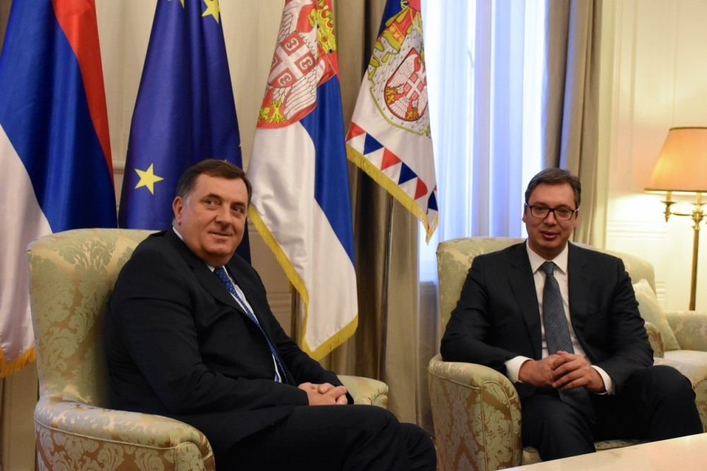 """Dodik completely under Vucic's control"", says Serbian parliamentarian"
