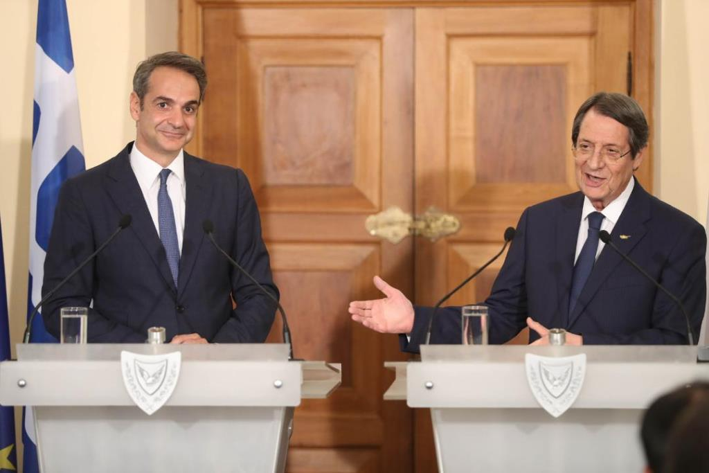 In view of the common challenges the statements Anastasiades-Mitsotakis