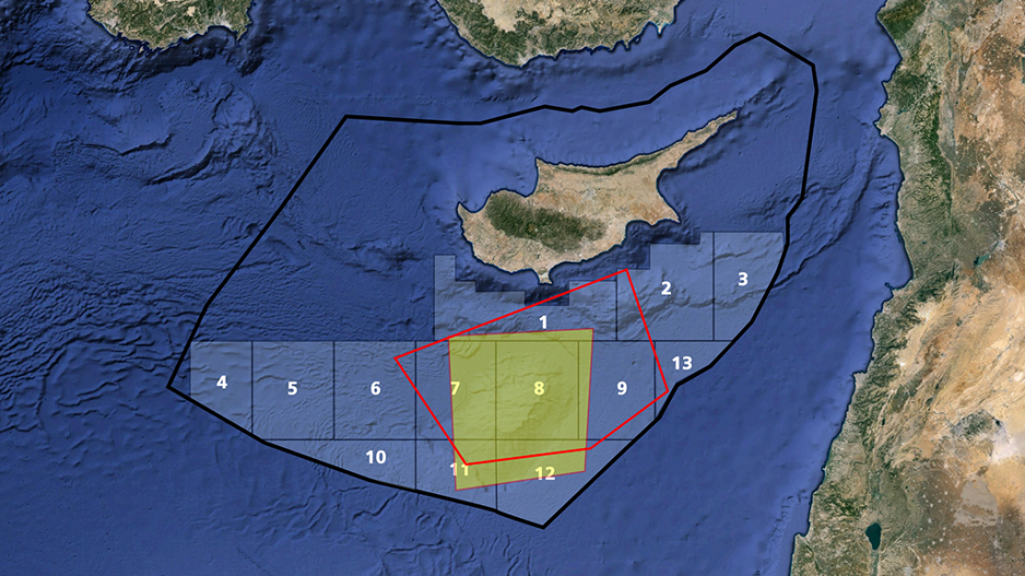 Cyprus does not sit idle: Plot 7 goes to ENI-TOTAL