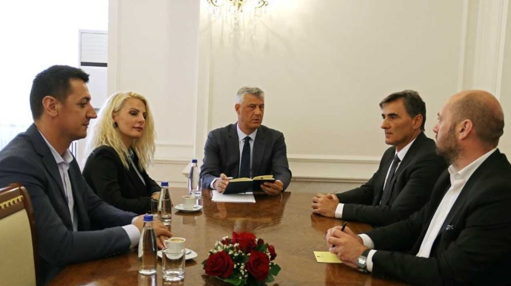 Kosovo's Thaci starts consultations with political parties