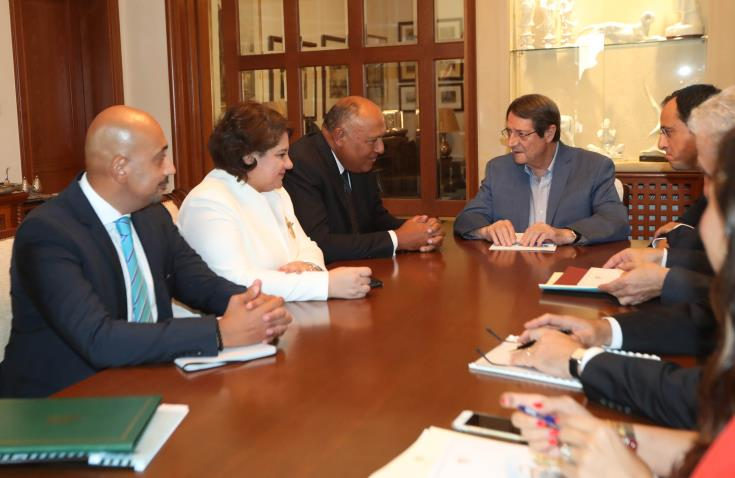 Sukry's visit to Cyprus is a positive step in Cyprus-Egypt relations