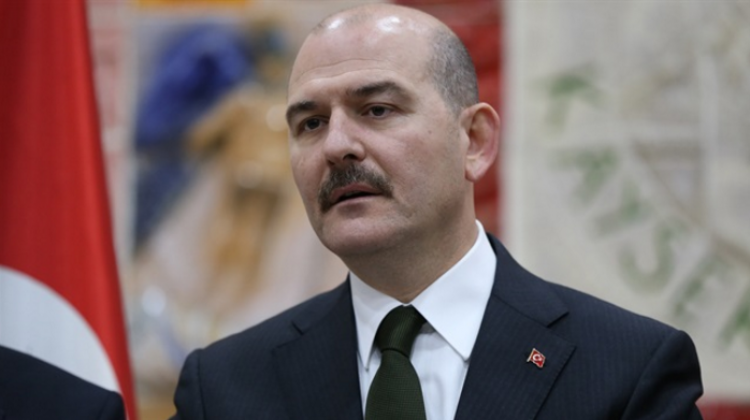 "Soylu: ""If we opened the Izmir route 30,000 refugees would escape in a single day"""