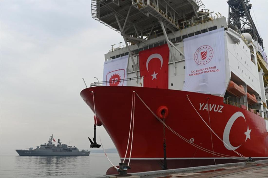 Turkey commenced drilling off the coast of Karpasia