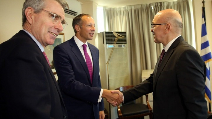 First meeting held between Greece's and USA's Working Groups regarding energy issues