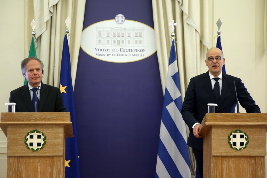 Dendias and Milanesi confirm the excellent relations between Greece and Italy
