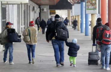 The Kosovar youth is leaving the country