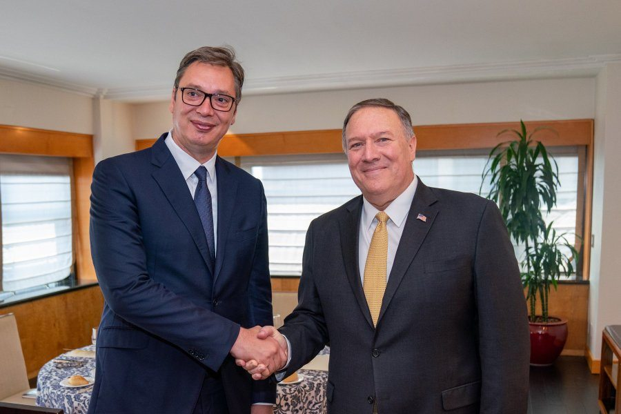 "Dialogue with Pristina will resume ""in December at the earliest"", Vucic says"