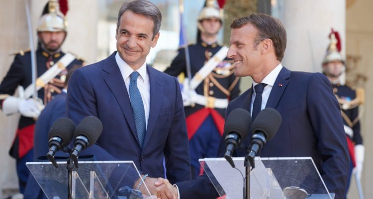Mitsotakis asked for Macron's support