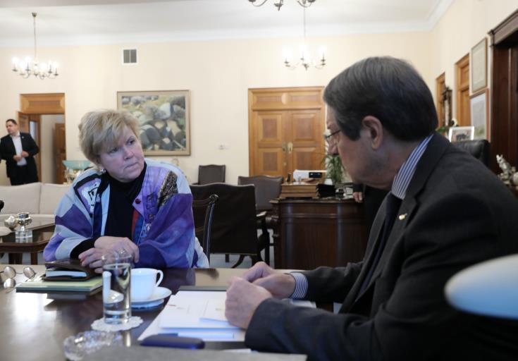 The Anastasiades-Lute meeting to take place on Sunday morning