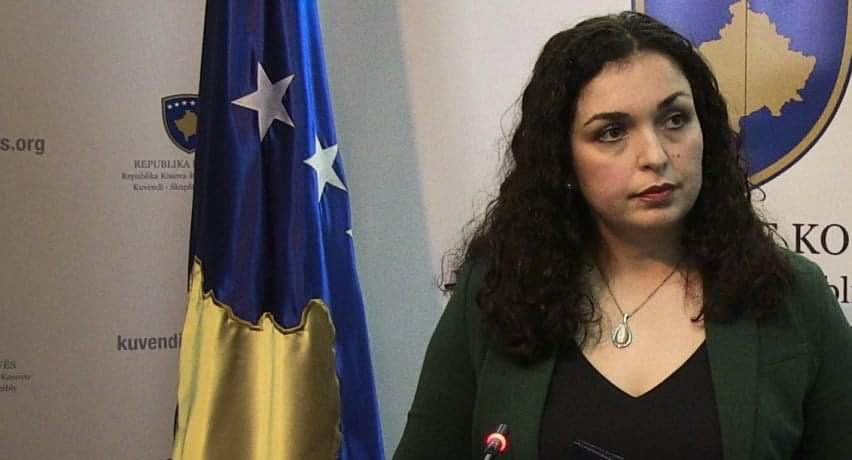 Vjosa Osmani becomes the first woman to run for prime minister of Kosovo