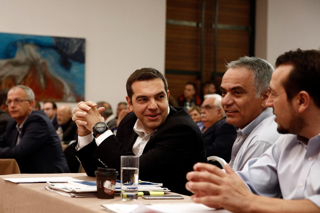 The political secretariat of SYRIZA decides on the roadmap for the reconstruction