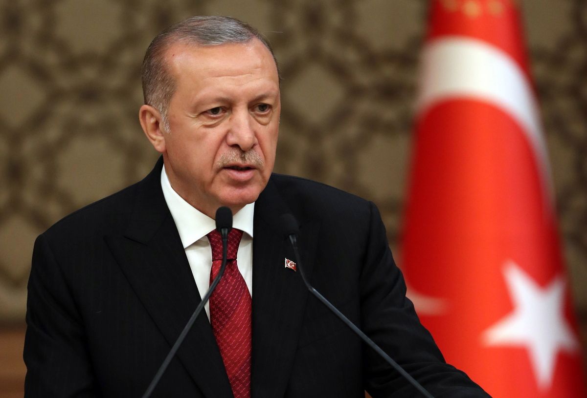 Erdogan: Turkey cannot afford to watch Eastern Mediterranean from the stands