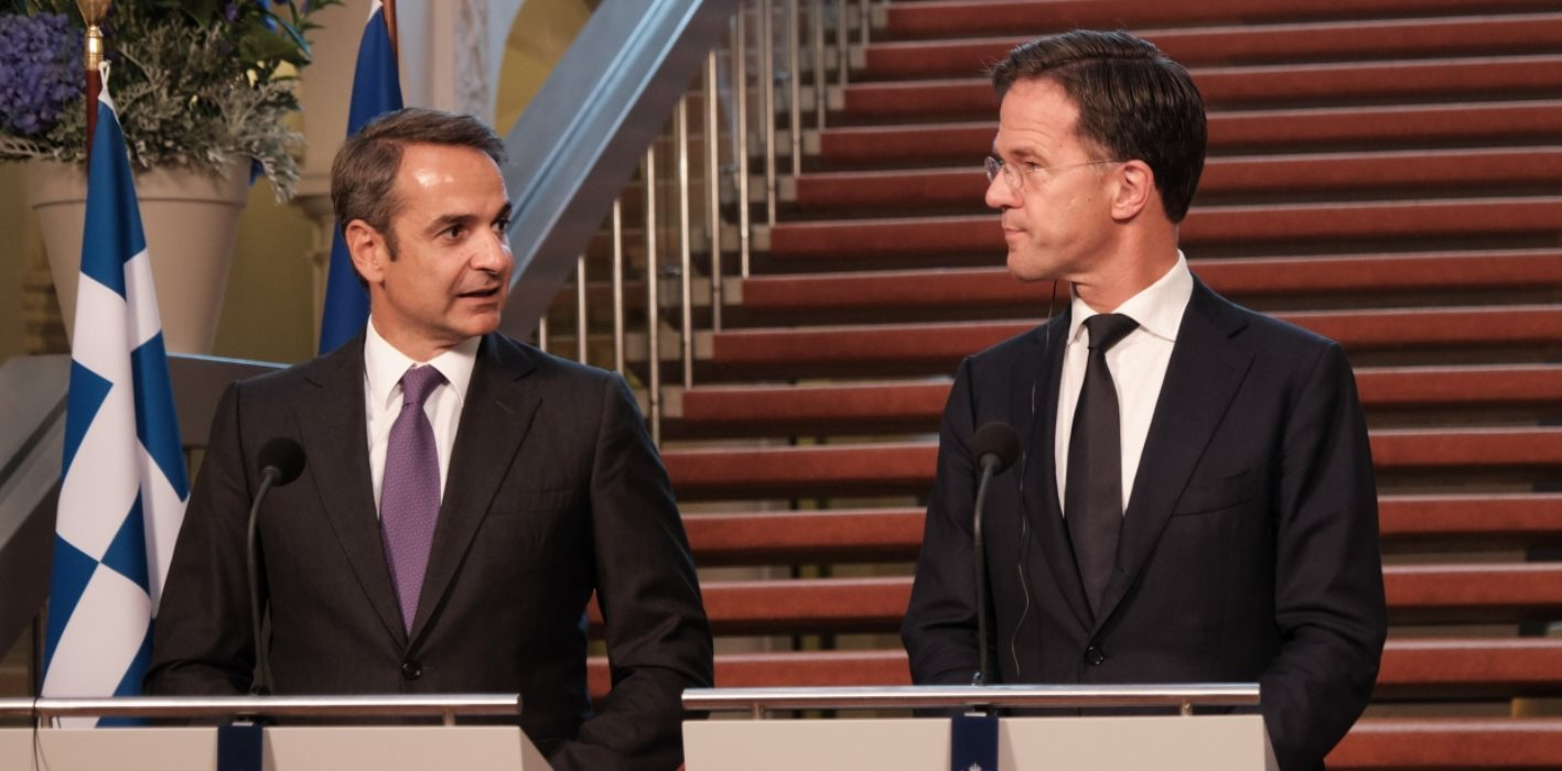 Mitsotakis, Rutte discuss Greek growth-boosting plans