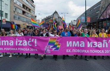 First Pride Parade in BiH passes without incidents
